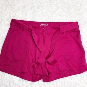 Nike- Women's Tour Performance Pink Gold Shorts